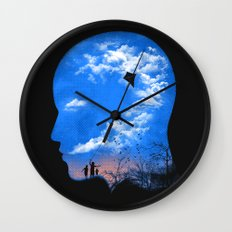 Pulling Out Some Thoughts Wall Clock
