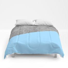 Geometry 101 Blue Raspberry Comforters