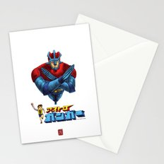 Astro Ganga (coloured) Stationery Cards