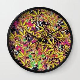 Tangle Weed Wall Clock