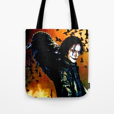 The Crow - Colored Sketch Tote Bag