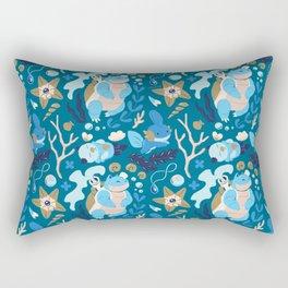 Tropical Water Type Rectangular Pillow