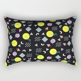 90's geometry Rectangular Pillow