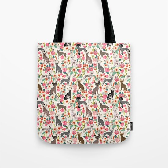 Chinese Crested dog breed toy dog breed pet friendly must have gifts for chinese crested dog owners Tote Bag