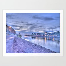 Bilberry, Waterford City Art Print