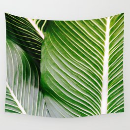 Big Leaves - Tropical Nature Photography Wall Tapestry
