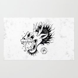 Drunken Dragon - W&B Rug