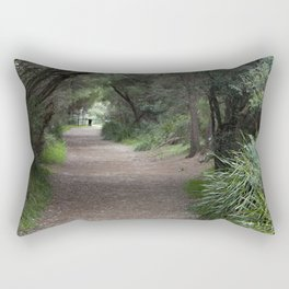 Tree Tunnel Rectangular Pillow