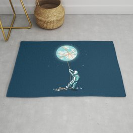 The collector Rug
