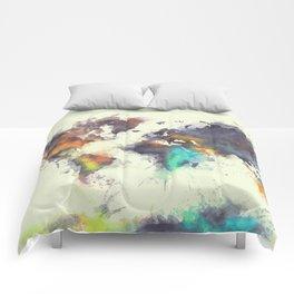 world map 106 #worldmap #map Comforters