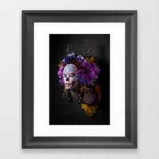Violet Harvest Muertita Framed Art Print