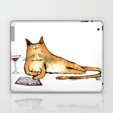 The Cat Relaxes Laptop & iPad Skin
