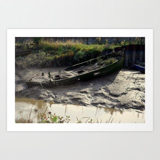 Old Boat (3) Art Print