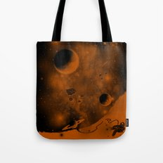 Lost in Negative Space Tote Bag