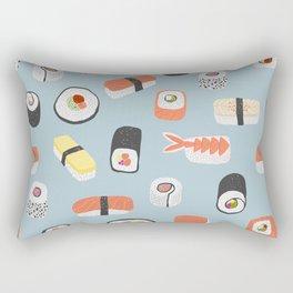 Sushi Roll Maki Nigiri Japanese Food Art Rectangular Pillow