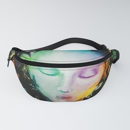 Fragility (Addisson) Butterfly Girl Portrait Fanny Pack