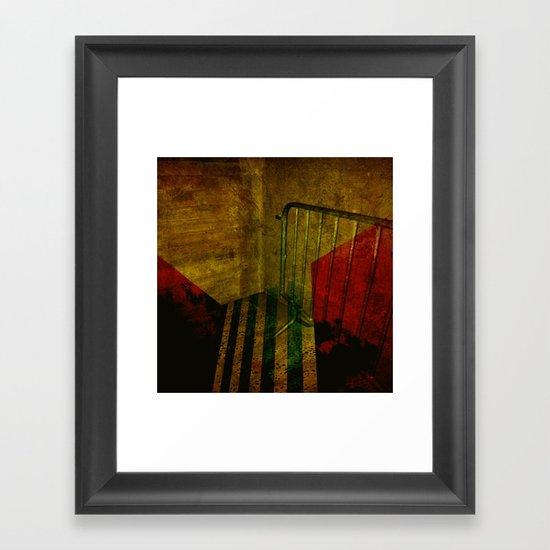 PARKING Framed Art Print