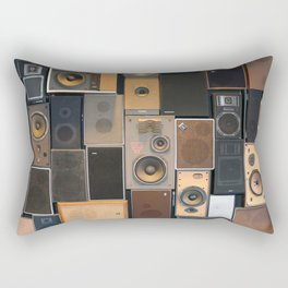 Audio Equipment Rectangular Pillow