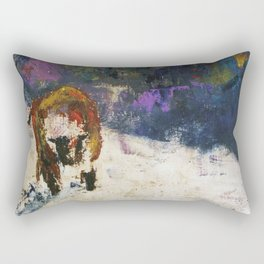 Cow on the Ranch Rectangular Pillow