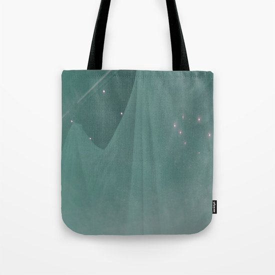 Green ghost Tote Bag