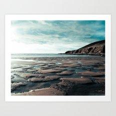 Saunton Sands North Devon Art Print