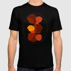 The Yellow One is the Sun Black MEDIUM Mens Fitted Tee