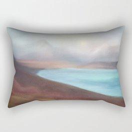 Minimal abstract landscape IV Rectangular Pillow