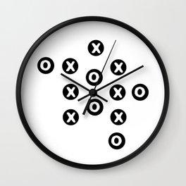 xs and os Wall Clock