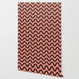 Coral Ripple Wallpaper