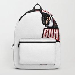 Gunner Esport Mascot Logo Backpack