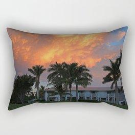 Sunset Over Tarpon Rectangular Pillow