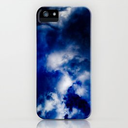 Deepest Blue iPhone Case