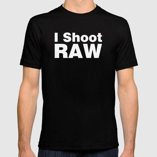 Photography - I Shoot RAW T-shirt