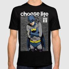 Choose Life Black Mens Fitted Tee MEDIUM