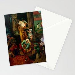 """Pieter Bruegel (also Brueghel or Breughel) the Elder """"An alchemist"""" Stationery Cards"""