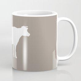 Cow: Beige Coffee Mug