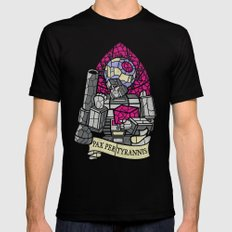 Pax Per Tyrannis Black SMALL Mens Fitted Tee