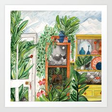 The Jungle Room Art Print