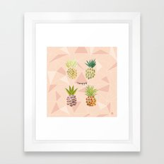 Pineapple Framed Art Print