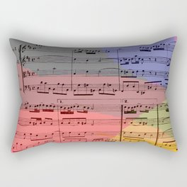 Rainbow Air Rectangular Pillow