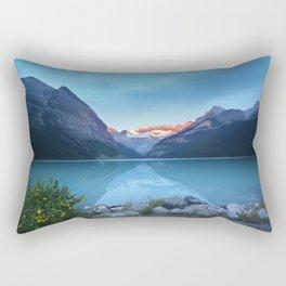 Mountains lake Rectangular Pillow
