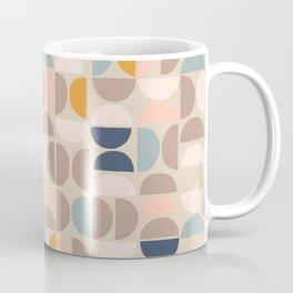 Mid Century Modern organic geometric pattern 1 Coffee Mug