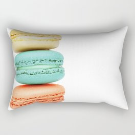 Stack of Macarons Rectangular Pillow