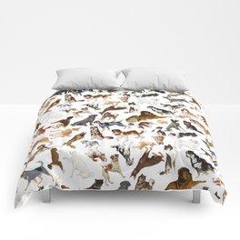 i love dogs Comforters