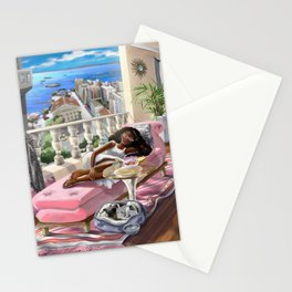 Window to Salvador Stationery Cards