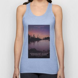 Georgian Bay Islands National Park Unisex Tank Top