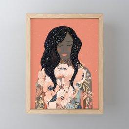 Self Love. Empower art Framed Mini Art Print