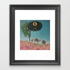 Desert Guide Framed Art Print