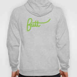 Badge of Honor: Butt (Large) Hoody