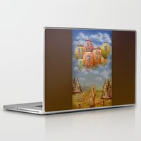 home sweet home Laptop & iPad Skins featuring Sweet Home by teddynash
